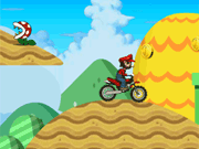 Play Mario Moto Racing
